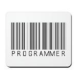 Programmer Barcode Mousepad