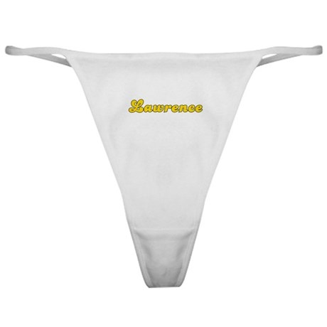 Retro Lawrence (Gold) Classic Thong