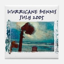 Hurricane Dennis Photo Tile Coaster