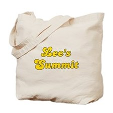 Retro Lee's Summit (Gold) Tote Bag