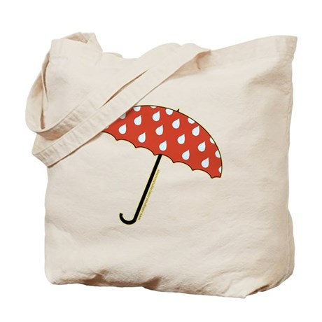 Cute Umbrella Picture2 Tote Bag