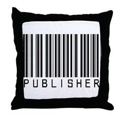 Publisher Barcode Throw Pillow