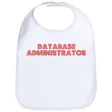 Retro Database ad.. (Red) Bib