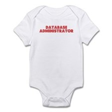 Retro Database ad.. (Red) Infant Bodysuit
