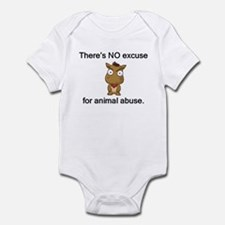 No Excuse Infant Bodysuit