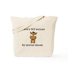 No Excuse Tote Bag