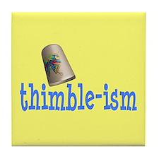 Sewing Thimble Tile Coaster