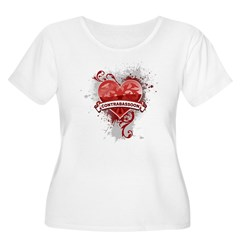 Heart Contrabassoon T-Shirt