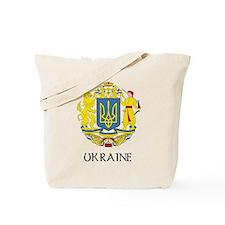 Ukraine Coat of Arms Tote Bag