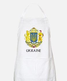 Ukraine Coat of Arms BBQ Apron