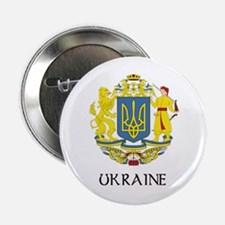 "Ukraine Coat of Arms 2.25"" Button"