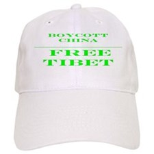 BOYCOTT CHINA-FREE TIBET Baseball Cap