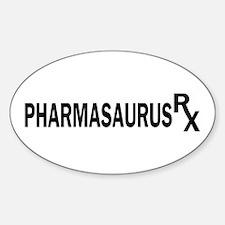 Pharm RX Oval Decal