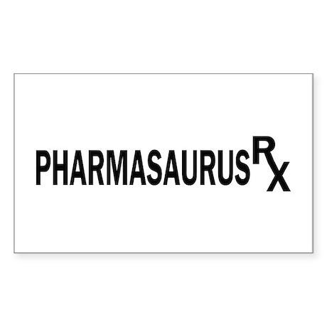 Pharm RX Rectangle Sticker