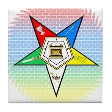 Order of the Eastern Star Tile Coaster