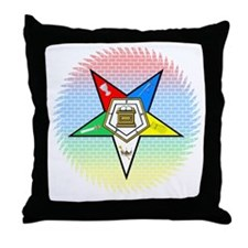 Order of the Eastern Star Throw Pillow