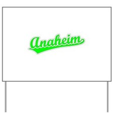 Retro Anaheim (Green) Yard Sign