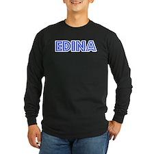 Retro Edina (Blue) T