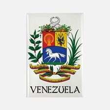 Venezuela Coat of Arms Rectangle Magnet