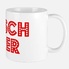 Retro Deutsch Leh.. (Red) Mug