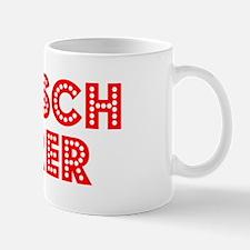 Retro Deutsch Leh.. (Red) Small Small Mug
