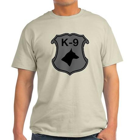 K-9 Badge Light T-Shirt