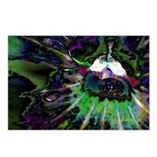 Hypnofluid Digital Chaos Postcards (Package of 8)