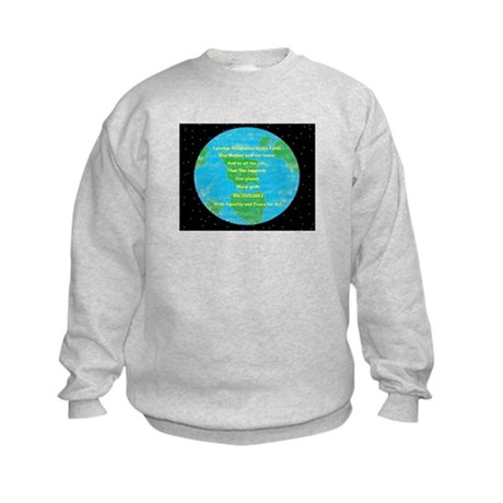 Pledge 2 Earth Kids Sweatshirt