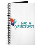 I Had A Vasectomy Journal