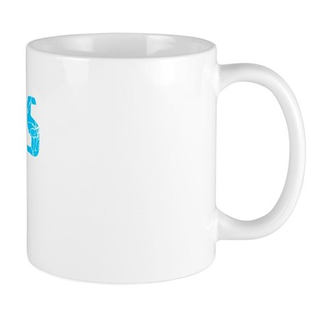 Pinellas Park Faded (Blue) Mug