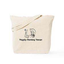 Happily Shooting Blanks Tote Bag