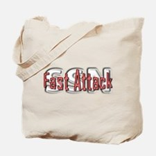 Fast Attack -- SSN Tote Bag