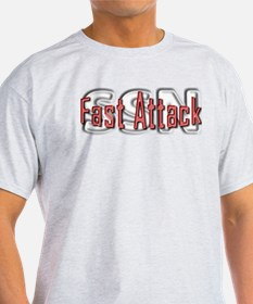 Fast Attack -- SSN T-Shirt