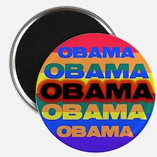 """Gays for Obama 2.25"""" Magnet (100 pack)"""