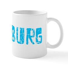 Pittsburg Faded (Blue) Mug