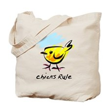 Chicks Rule Tote Bag