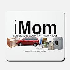 iMom with kids; career housew Mousepad