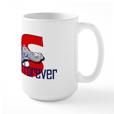 SS--Diesel Boats Forever Large Mug