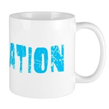 Plantation Faded (Blue) Mug