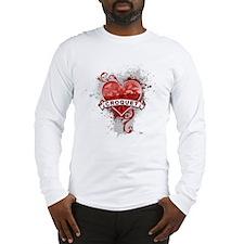 Heart Croquet Long Sleeve T-Shirt