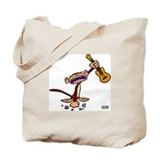 Screaming Monkey Tote Bag