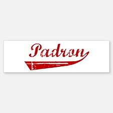 Padron (red vintage) Bumper Bumper Bumper Sticker