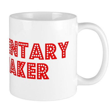 Retro Documentary.. (Red) Mug