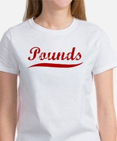 Pounds (red vintage) Women's T-Shirt