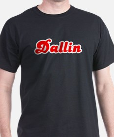 Retro Dallin (Red) T-Shirt