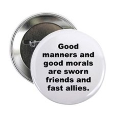 "Funny C quotation 2.25"" Button"