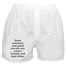 Funny C quotation Boxer Shorts