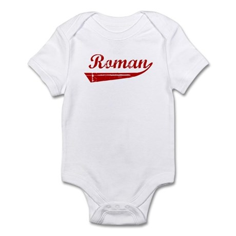 Roman (red vintage) Infant Bodysuit