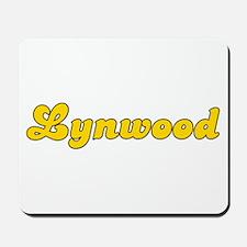 Retro Lynwood (Gold) Mousepad