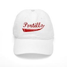 Portillo (red vintage) Baseball Cap